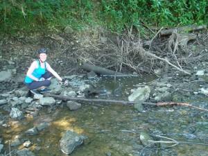 Hier verschwindet einfach das ganze Wasser der Donau in einer Felsspalte.
