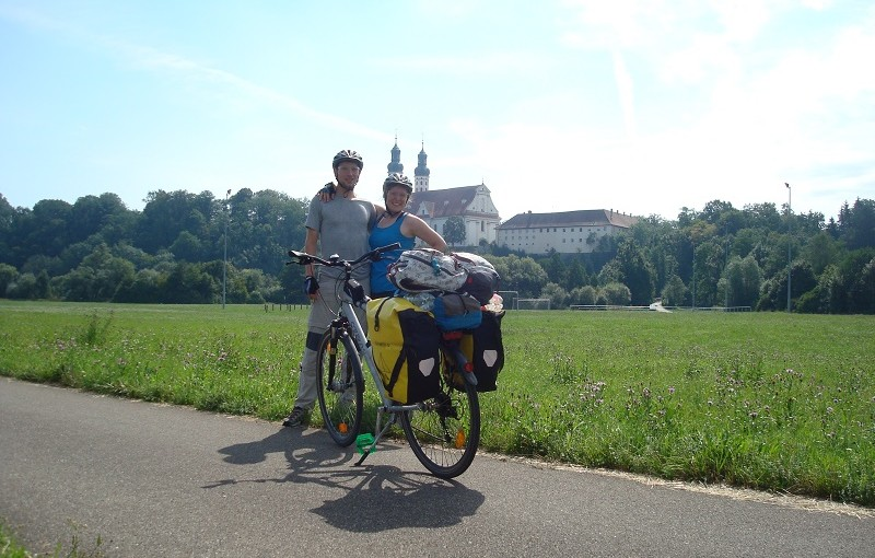 train ride to Donaueschingen and first days on bicycles