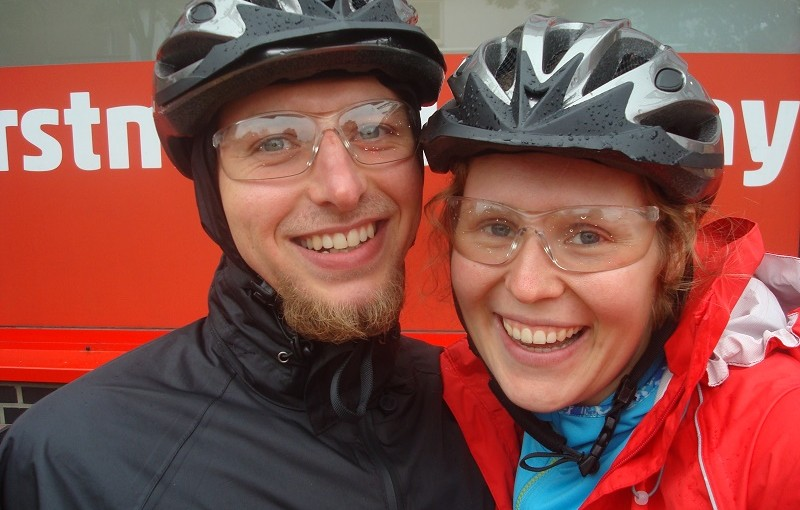 First Bicycle Tour and a Wedding