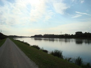 So groß ist mittlerweile die Donau.