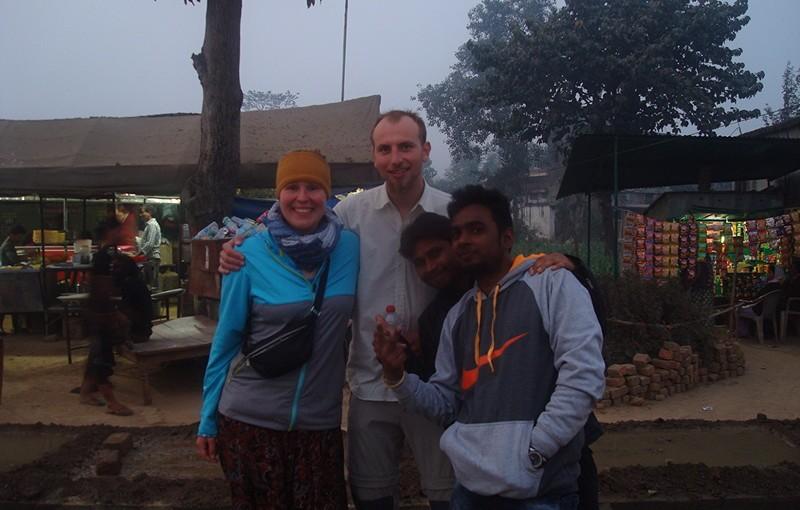 Über Land von Pokhara nach Varanasi (07.01.2016)